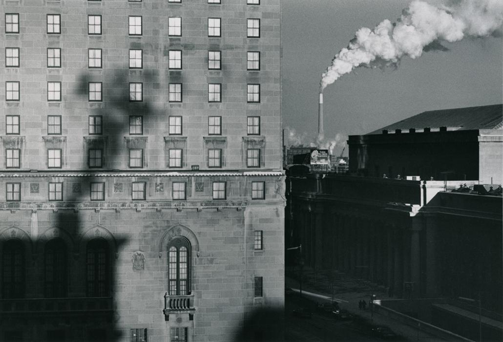 Füst Torontóban, 1979 - Zselatinos ezüst nagyítás - Vintázskópia
