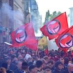 Több mint ötezer rendőrt küldtek utcára Berlinben, nagyobb balhé eddig nem volt