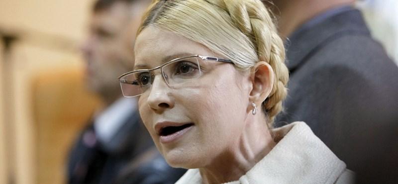 Timosenkót visszaszállították a börtönbe, elutasította a kórházi kezelést