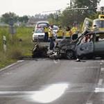Két gyereket hagyott maga után az 5-ös úton meghalt motoros rendőr