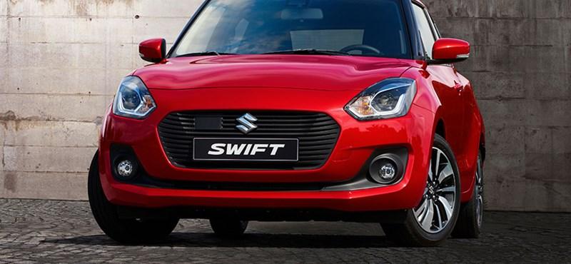 Már nem magyar, de ütős lesz a Suzuki Swift Sport