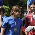 Totti érzelmes levélben búcsúzott Buffontól