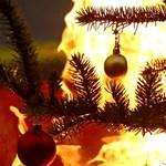 Leégett Sebestyén Balázsék karácsonyfája