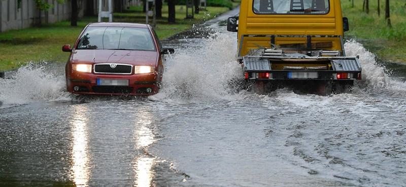 Vihar csap le az ország keleti felére