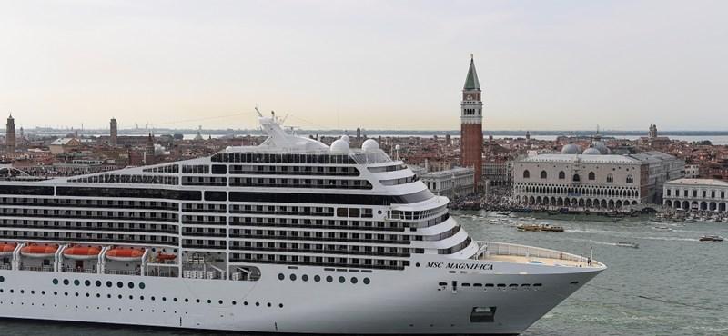 Kitiltják az óceánjárókat Velence központjából
