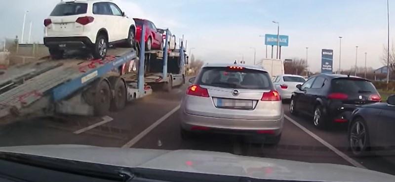 2020 legerősebb közúti jeleneteiből csinált videót a rendőrség