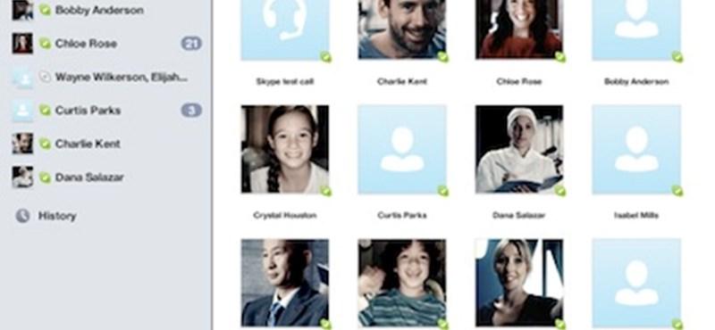 Végre itt az iPades Skype!