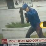 Túldramatizálta a hurrikánt a bejelentkezésben, mögötte egészen mást lehetett látni