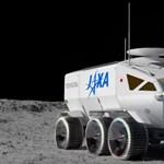 Megmutatták a japánok, milyen járművel közlekednének a Holdon