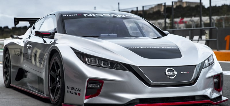 Európában a 322 lóerős Nissan Leaf villanyautó