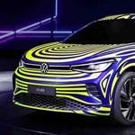 A Volkswagen Tiguannak is jön az elektromos megfelelője ID.4 néven
