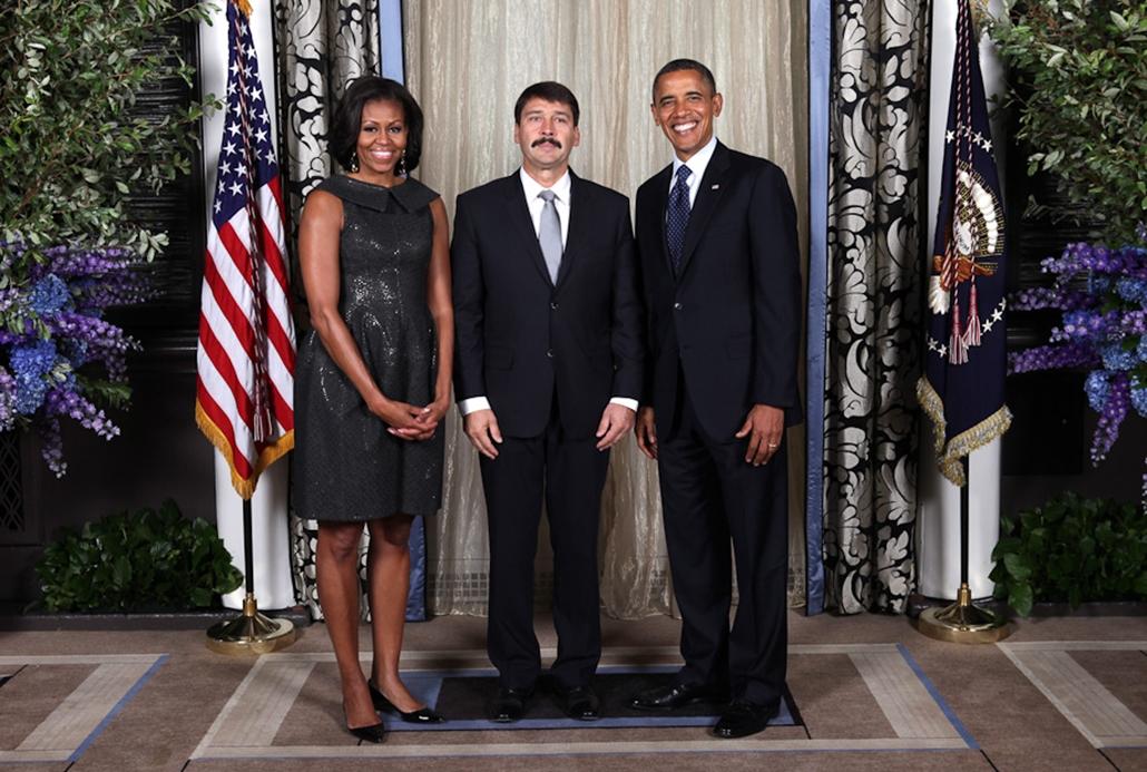 Áder János, Fehér Ház, Obama