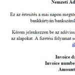 Vigyázzon, ha ilyen emailt kap, csalók vadásznak az adataira a NAV nevében