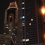 Fáklyaként égett a világ egyik legmagasabb lakóépülete