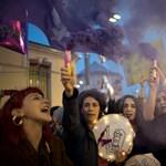 Könnygázzal oszlatták fel a nőnapi tüntetést Isztambulban
