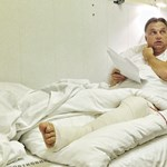 16 éve ugyanígy feküdt a kórházi ágyán Orbán
