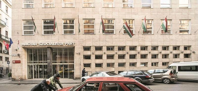 Az OTP veheti meg az MSZP-székházat
