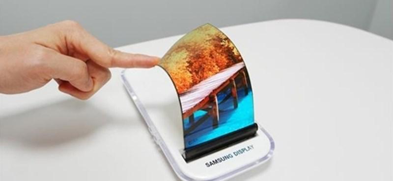 Végre mondott valamit a Samsung az izgalmas, flexibilis telefonjáról