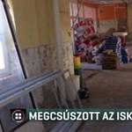 Nem készül el tanévkezdésre a szirmabesenyői iskola felújítása