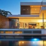Ausztrál remekmű: nappali a hatalmas teraszon