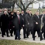 Orbán és Fico kőolajvezetéket adtak át