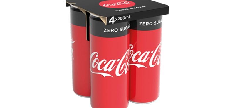 Műanyagmentes csomagolásra vált a Coca-Cola egy termékénél
