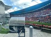 Fehér mezben játszik a magyar válogatott, szivárványszínű lett az UEFA logója - élőben a foci-Eb-ről