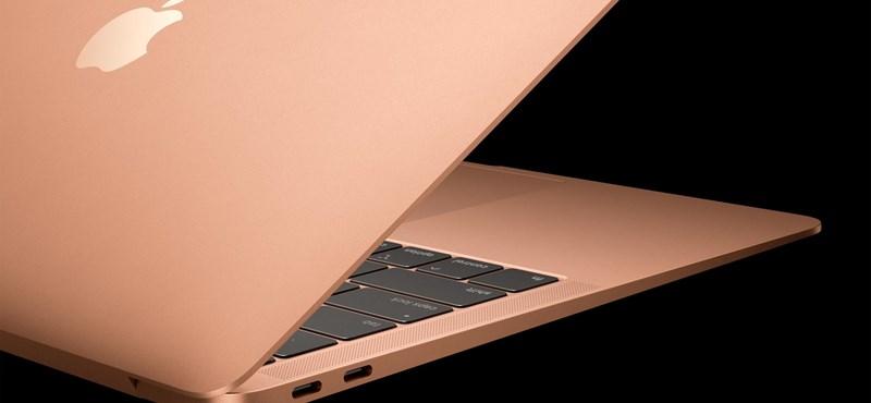 Szebb, vékonyabb és nem túl olcsó: itt az Apple új laptopja, az új MacBook Air