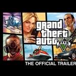 Itt a GTA V hivatalos trailere