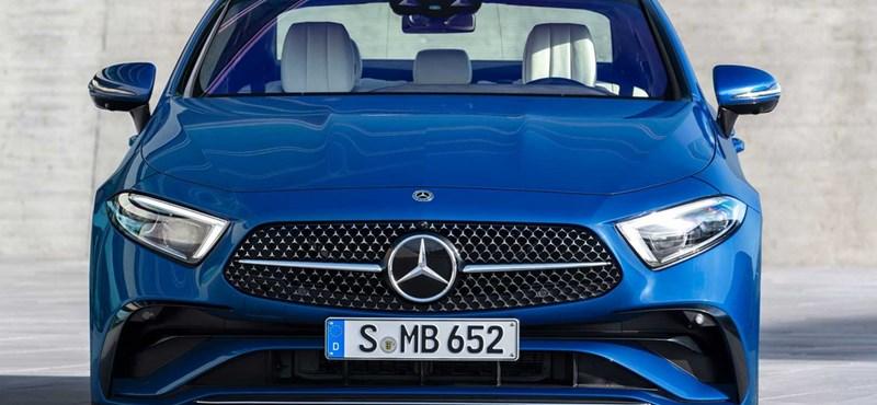 Magyarországon a megújult Mercedes CLS
