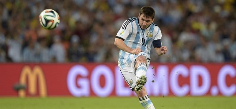 Németország - Argentína percről percre