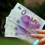 Nem vicc, tényleg létezik 0 eurós bankjegy