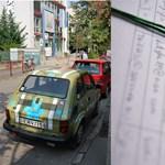 Zöld Pardon: 100 ezernél több aláírás parkol az önkormányzat előtt