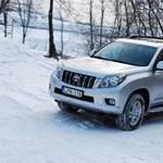 Toyota Land Cruiser Prado teszt: luxusterepes