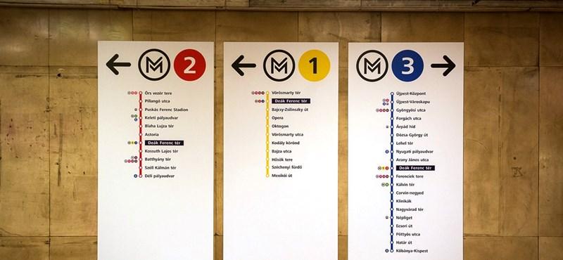 Londoni metrómegállókhoz hasonlít a Deák téri - fotó