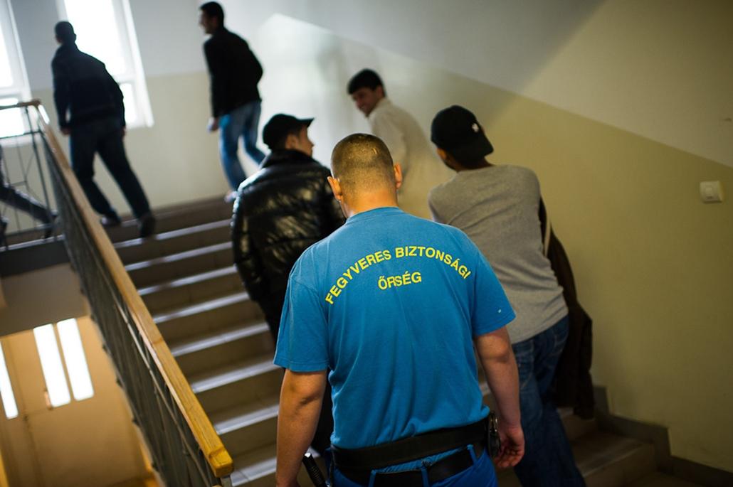 Menekültek, Nyírbátor, illegális határátlépés