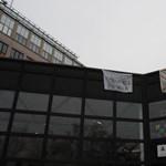 Fotó: ez a látvány várja az ELTE-seket a lágymányosi campuson