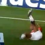 Videó: lábát törte a Manchester United játékosa