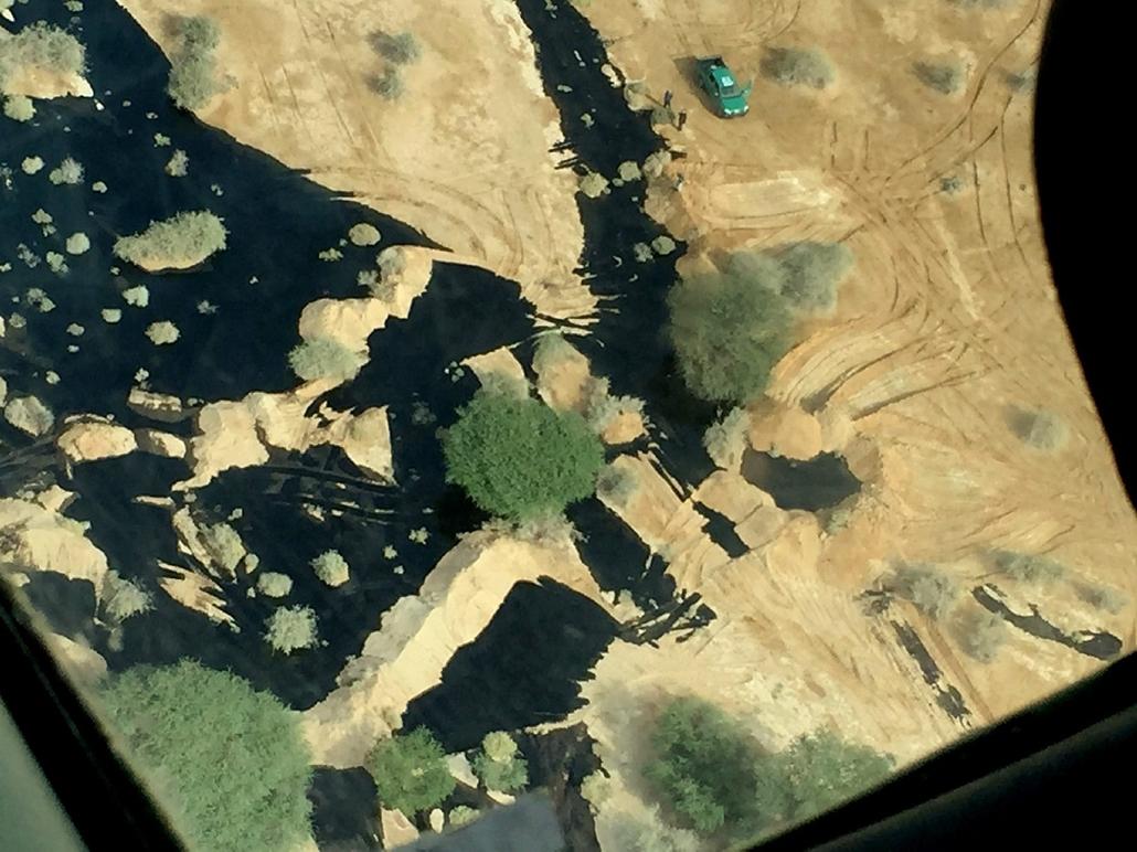 epa.14.12.04. - Eilat, Izrael: megrepedt vezetékből szivárgó kőolaj - 7képei, Izrael, kőolaj, természeti katasztrófa
