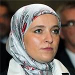 Fotó: ő Európa első hidzsábos polgármestere