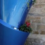 Üvegszálas csavart váza - 2 méter magas