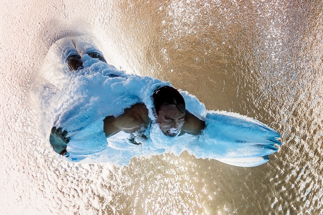 afp.16.08.20. - A brit Thomas Daley a férfi 10 méteres toronyugrás elődöntőjében augusztus 20-án. - olimpia, riói olimpia 2016, olimpia 2016