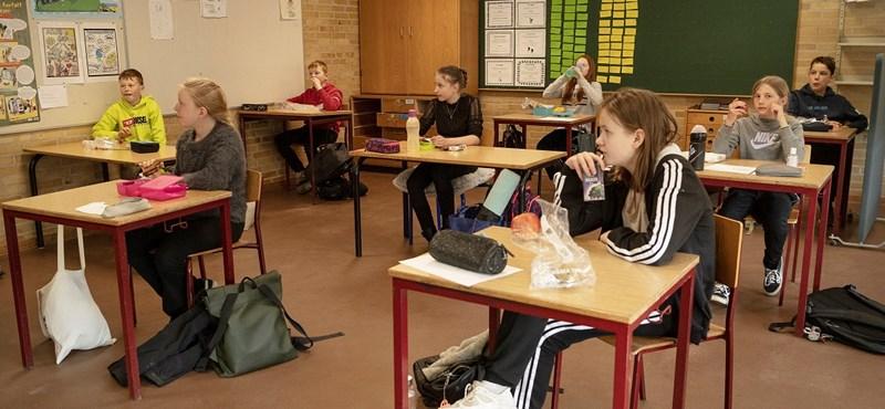 Óránként kézmosás és kis osztálycsoportok - videó a dániai iskolák újranyitásáról