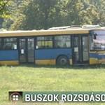 Súlyosan szennyezheti a környezetet a pécsi telephelyen vesztegelő 100 busz
