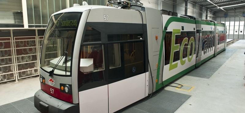 Különleges villamost teszteltek Bécsben
