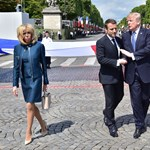 Orbán bevédte Trumpot Macronnal szemben?