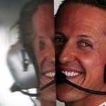 10,4 méter repülés után esett fejre Schumacher