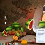 Rajongóknak: letölthető Fruit Ninja Windows 7 téma a Microsofttól