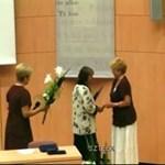 Kitüntették a BMF könyvtárosát