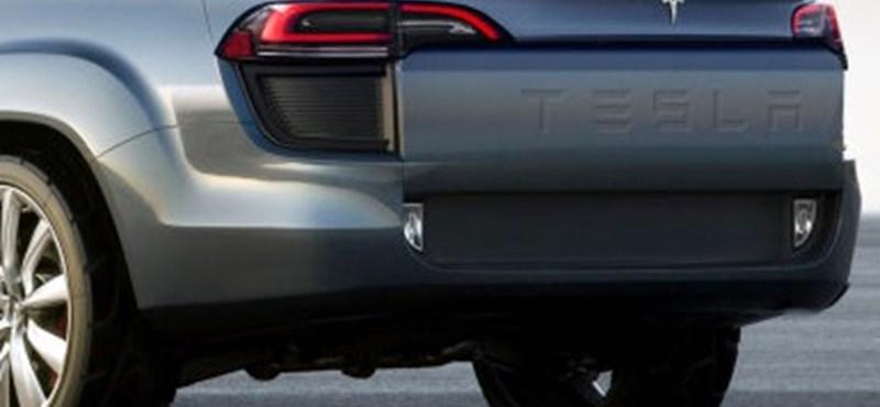 Így nézhetne ki az első platós Tesla